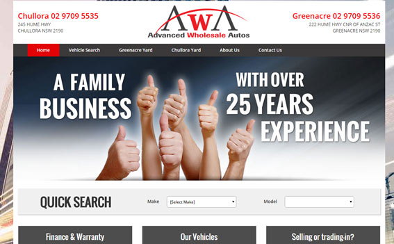 Advanced Auto Wholesale